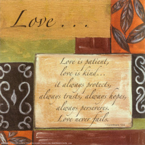 Words to Live By: Love Poster