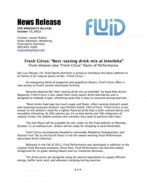Fresh Citrus Press Release PDF file