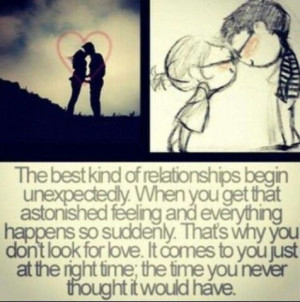 Unexpected love is the greatest kind