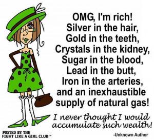 OMG, I'm rich!