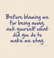 Blaming Quotes