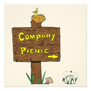 Company Picnic Invitations, 40 Company Picnic Announcements & Invites