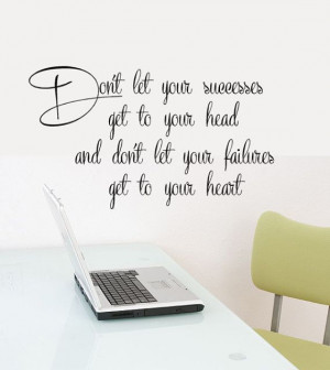 Office Decor Wall decal words Success Quotes 24.5