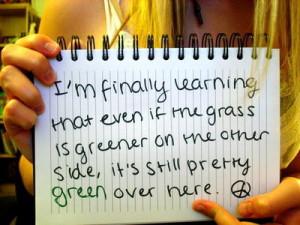 green,grass,quote,grass,is,still,pretty,like,feeling,self ...