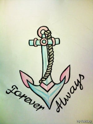 Anchor Tattoos With Quotes For Girls 2015-2016