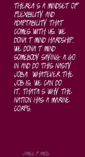 James F. Amos's quote #5