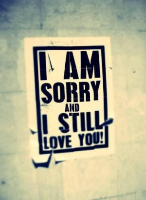 sorry i love you quotes and sayings