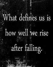 What defines us