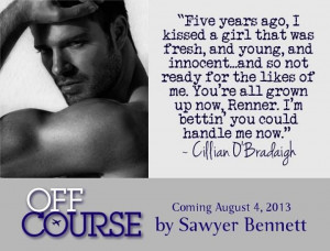 Off Course (Sawyer Bennett)