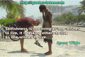 30+ Selfish Quotes