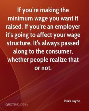 Minimum wage Quotes