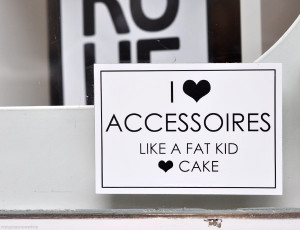 and I love CAKE like a fashion addict loves accessories.