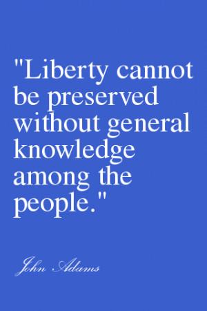 John Adams More Life Quotes