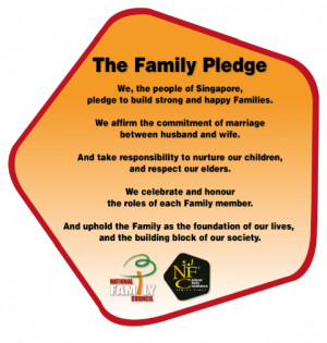 New family pledge emphasises the importance of family values in ...