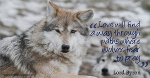 Love Will Find A Way Through Paths Where Wolves Fear To Prey Quote