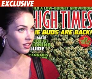 Megan Fox marijuana quotes