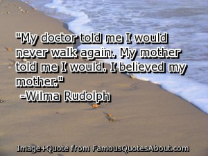 Wilma Rudolph for Home Based Business Owners