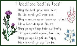Scottish Sayings and Poems