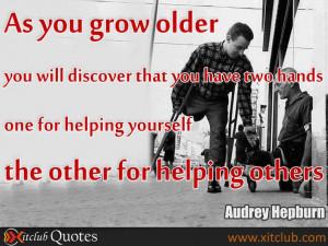 Famous Quotes by Audrey Hepburn