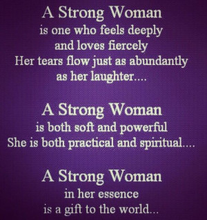 Strong Woman!!