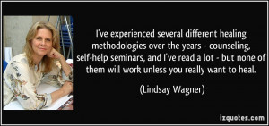 More Lindsay Wagner Quotes