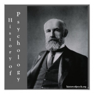 Stanley Hall History of Psychology Canvas Print