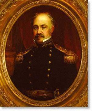 William Smith Jewett (1812-1873), Portrait of General John A. Sutter ...