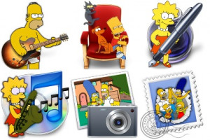 Iconset Simpsons Icons...