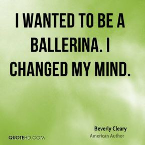 More Beverly Cleary Quotes