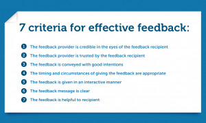 How to Give and Receive Feedback at Work: The Psychology of Criticism