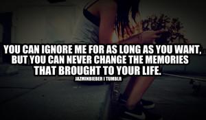 Ignore Quotes Quote Love
