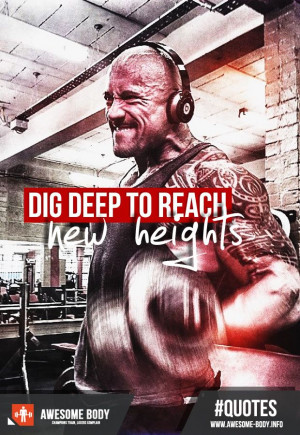 The Rock Workout Pictures | Dwayne Johnson | Motivation Quote