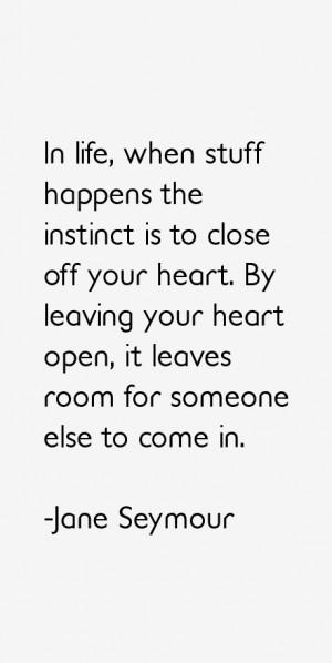 Jane Seymour Quotes amp Sayings