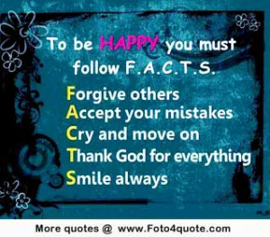 Inspirational life quotes and photos - To be happy you must follow Few ...