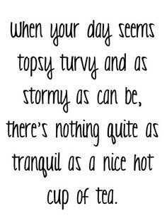Tea Quotes/