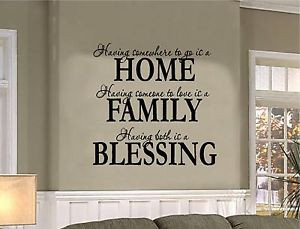 Home Family Blessing Credited