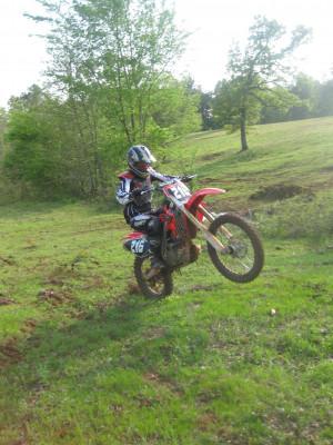 Motorcross Wheelie
