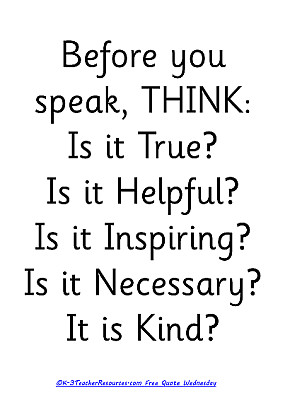 quotes picture think before you speak before you speak think