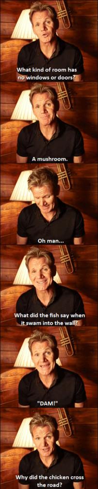 Gordon Ramsay Joking Around
