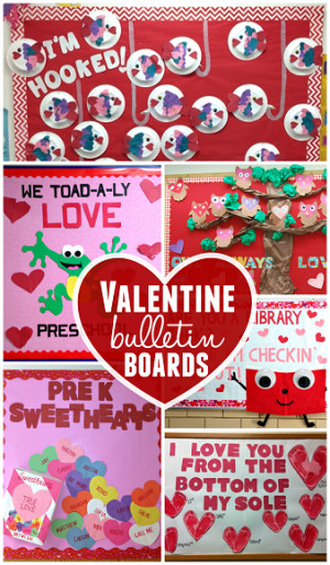 If you made your own Valentine bulletin board, send me a picture at ...