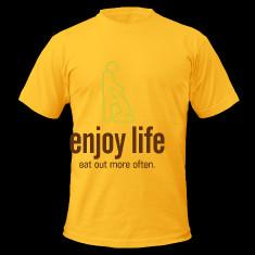 enjoy life 4 dd t shirts