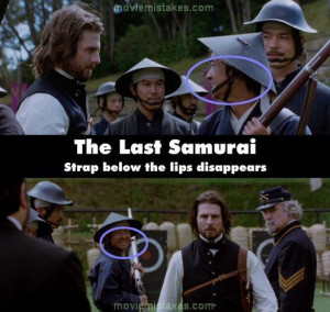 The Last Samurai' (2003)