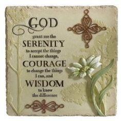 Al-Anon Serenity Prayer More