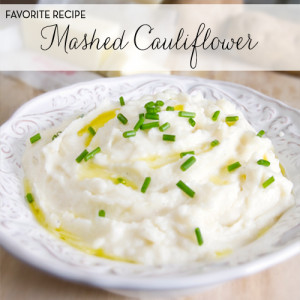 ... cauliflower as a replacement makes for a delicious low-carb substitute
