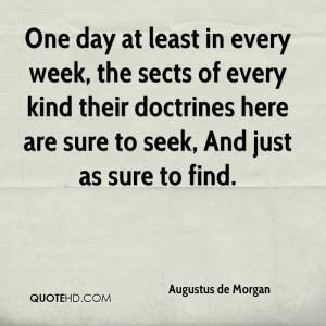 Augustus de Morgan Quotes