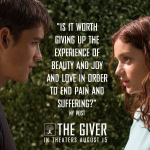 quotes from the giver book