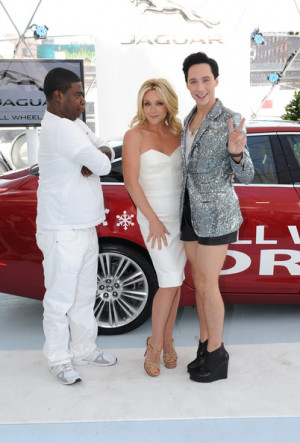 Tracy Morgan, Jane Krakowski and Johnny Weir were on hand at Jaguar's ...