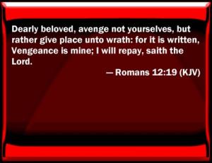 Romans 12:19 Bible Verse Slides