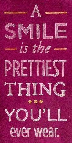 Smile... prettiest thing you'll wear. www.londondentalcareohio.com