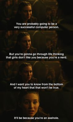 The Social Network (2010) ~ Movie Quotes
